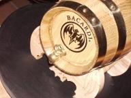 Barril personalizado con talla o grabado de 8 litros
