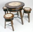 Mesas + 3 taburetes