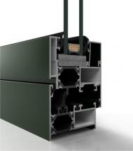 Ventana de aluminio practicable COR-3500 RPT