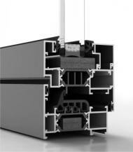 Ventanas de aluminio practicables COR 70 RPT