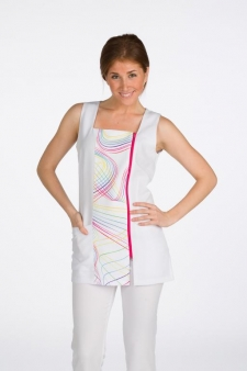 CASACA FASHION CURVES BLANCO