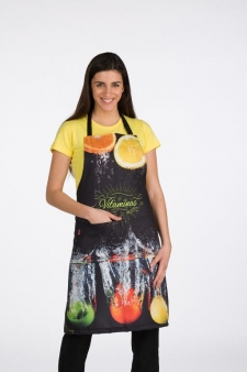 DELANTAL FASHION FRUITS
