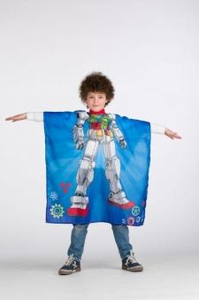 CAPA PELUQUERIA INFANTIL ROBOT