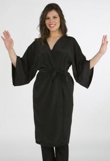 kimono peluqueria negro