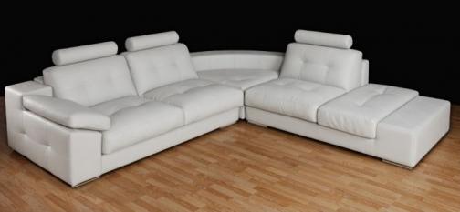 Casas cocinas mueble sofa rinconera piel for Sofa rinconera piel