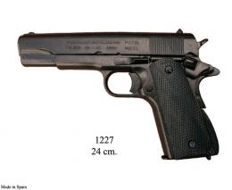 Replica Colt, 45, Goverment, negra