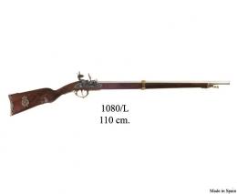 Rifle francés, 1807. Latón