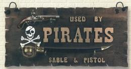 Plafón Pirata