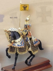 Armadura a caballo Caballero Alemán