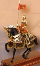 armadura a caballo primcipe negro