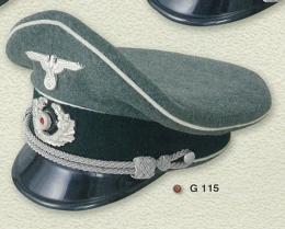 Gorra de plato oficial Wehrmacht, unidad...