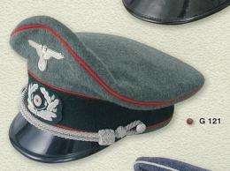 Gorra de plato oficial Wechrmacht unidad...