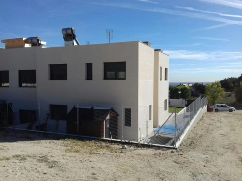 MODELO SISMO. MADRID NORTE TORRELODONES CONSTRUIDO 2019