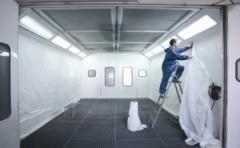 Plástico para la protección de cabinas