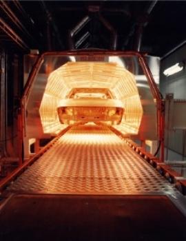 Túneles de Secado por onda corta