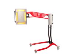 Infrarrojo móvil con telémetro, puntero láser y pirómetro
