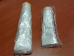 Plástico con cinta en baja temperatura