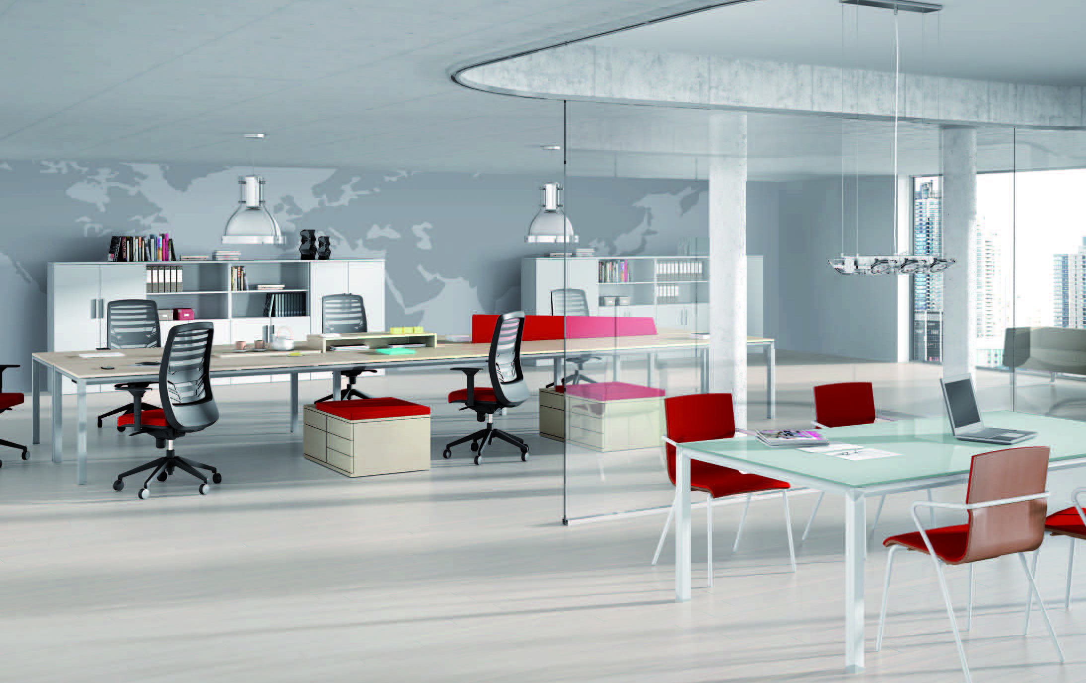 Metrik for Imagenes de mobiliario de oficina