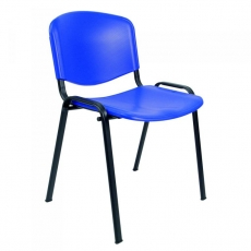 Silla fija sin brazos en PVC mod. Esfera-PVC-1020