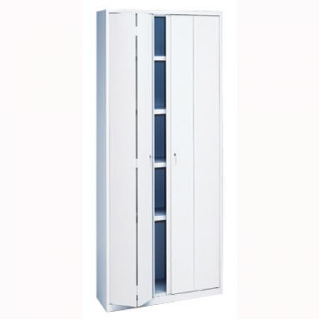 Armario con puertas plegables md 198x95x42 cm - Puertas plegables armarios ...