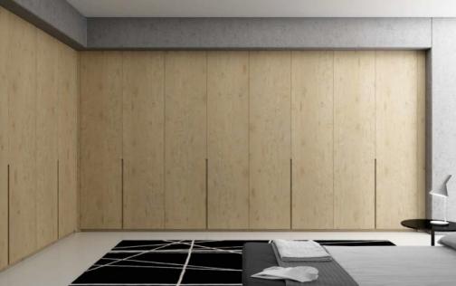 Frente de armario plegable roble puertas garcisanz - Tiradores armarios empotrados ...