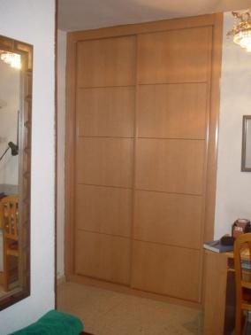Frente de armario corredera haya vaporizada puertas - Frentes armarios correderas ...