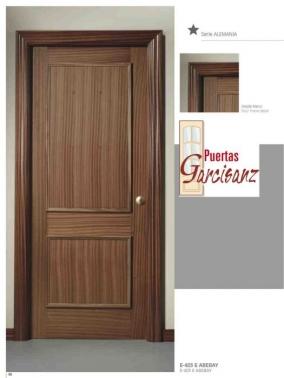Puerta Blindada Recta Dos Cuadros En Sapelly Puertas