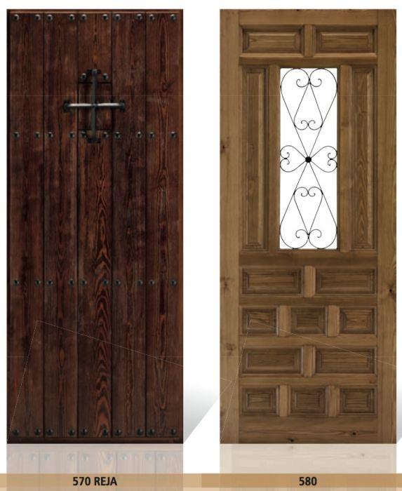 Puertas de madera de entrada gallery of puerta madera a for Puertas de madera entrada principal modernas