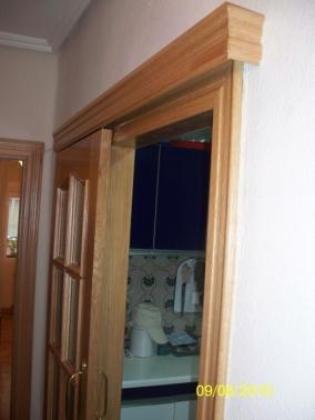 Puerta corredera sobre carril exterior puertas garcisanz - Guia puerta corredera ...