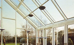 Verandas y techos ciegos.