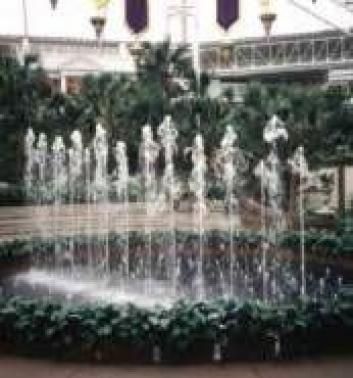 Fuentes para parques y jardines