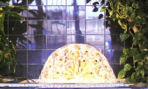 Esferas y miniesferas de agua