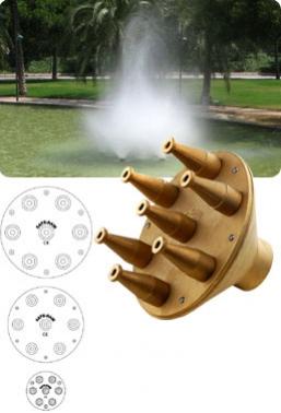 cabezas de nuves de pulverización