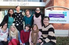 Nuestras alumnas en la prensa alemana
