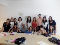 Comienzo de curso de educadoras infantiles IDA V (Junio 2014)