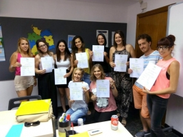12ª PROMOCIÓN EDUCADORES INFANTILES EN ALEMANIA IDA 12) - ENTREGA DE DIPLOMAS B2