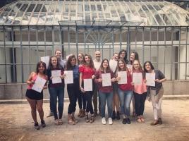 14ª PROMOCIÓN EDUCADORES INFANTILES EN ALEMANIA (IDA 14) - ENTREGA DE DIPLOMAS