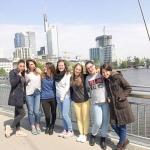 De prácticas por Frankfurt