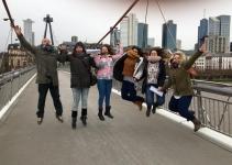Brincando por Frankfurt