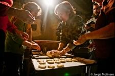 En el horno. Fotografía de Jorge Molinero