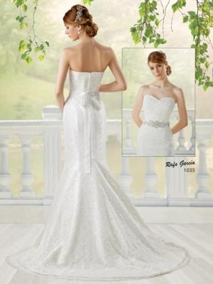 novia 1035 espalda