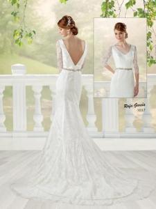 novia 1037 espalda