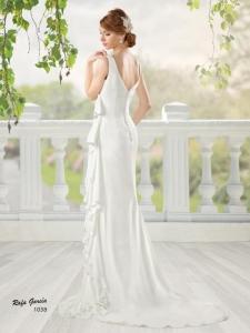 novia 1038 espalda