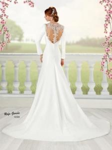 novia 1039 espalda