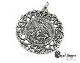 Medallón de cuna ángel de la guarda