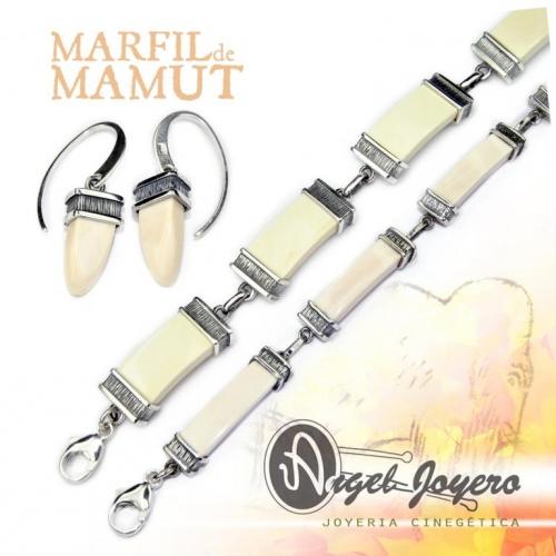 MARFIL DE MAMUT: Antiguos materiales para la nueva joyería