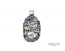 Colgante mama plata/oro