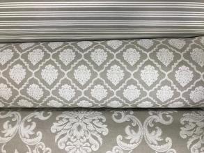 tapiceria coordinada gris