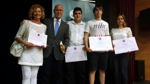 Entrega de premis del concurs de Projectes Empresarials