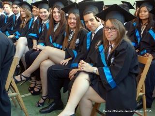 Un any més, la Graduació del Balmes